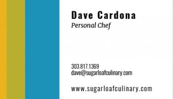 Dave Cardona, Personal Chef | 303.817.1369